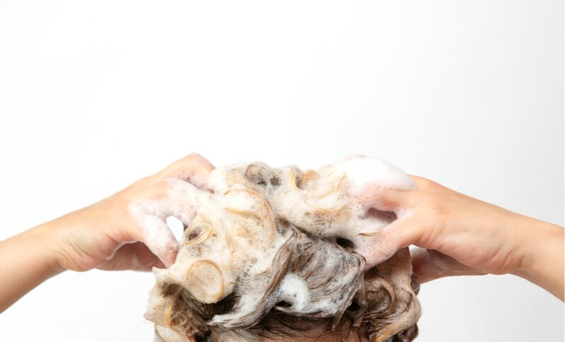 frequent hair washing dry itchy scalp